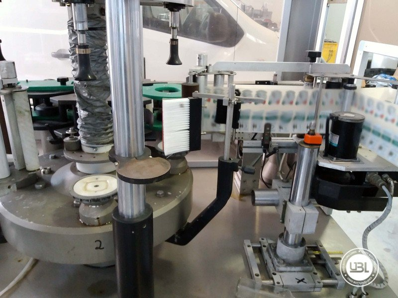 Used Bottle Labeler OXE Quasar Adhesive 480 4000 bph - 2