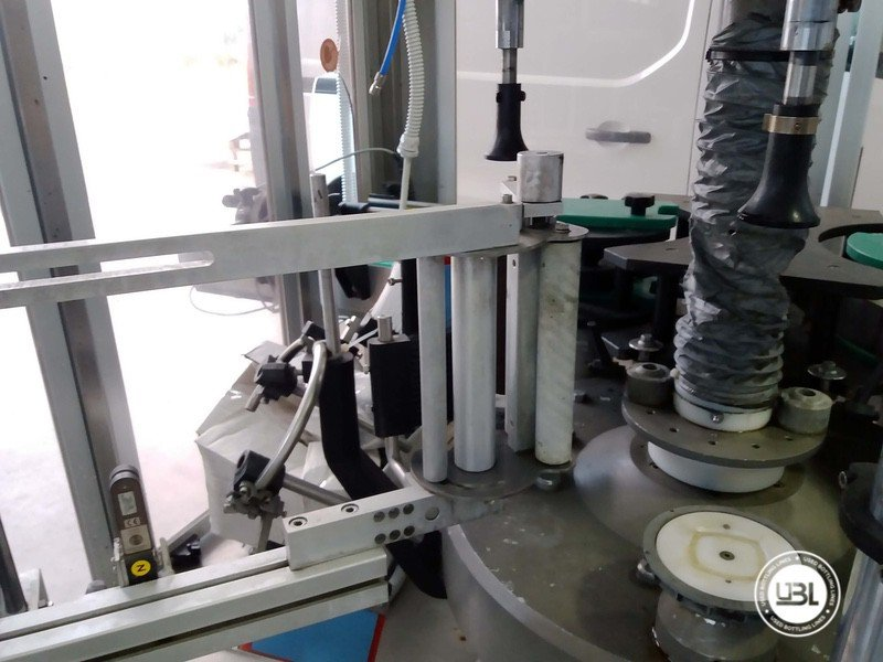 Used Bottle Labeler OXE Quasar Adhesive 480 4000 bph - 3