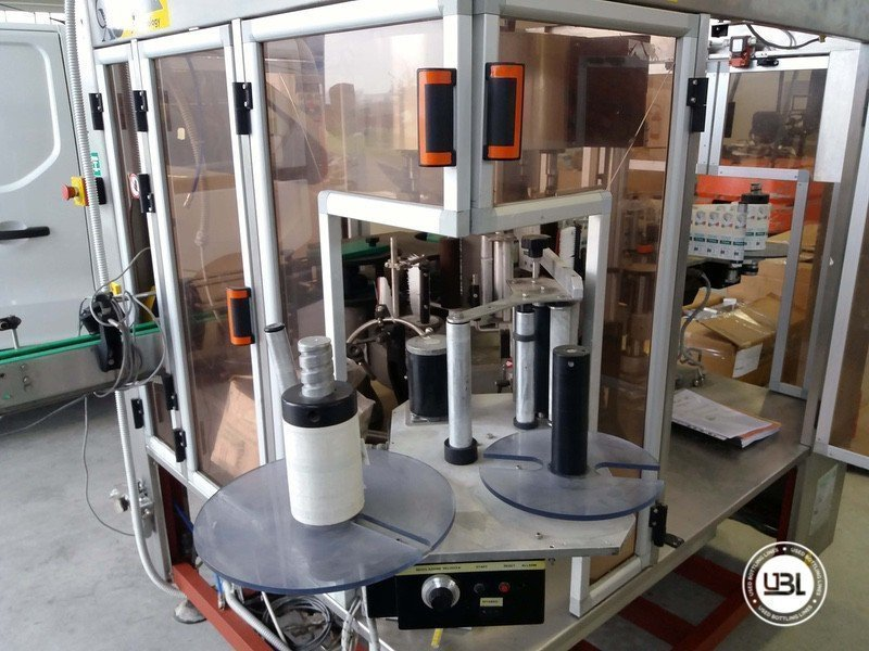 Used Bottle Labeler OXE Quasar Adhesive 480 4000 bph - 4