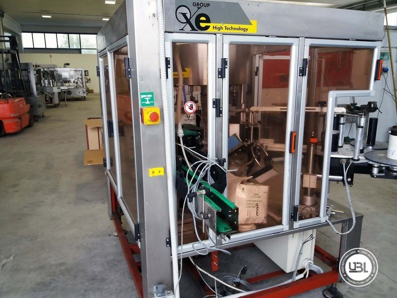 Used Bottle Labeler OXE Quasar Adhesive 480 4000 bph - 5