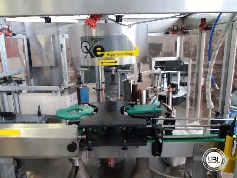 Used Bottle Labeler OXE Quasar Adhesive 480 4000 bph - 6