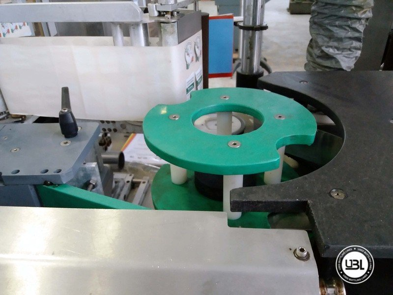 Used Bottle Labeler OXE Quasar Adhesive 480 4000 bph - 7