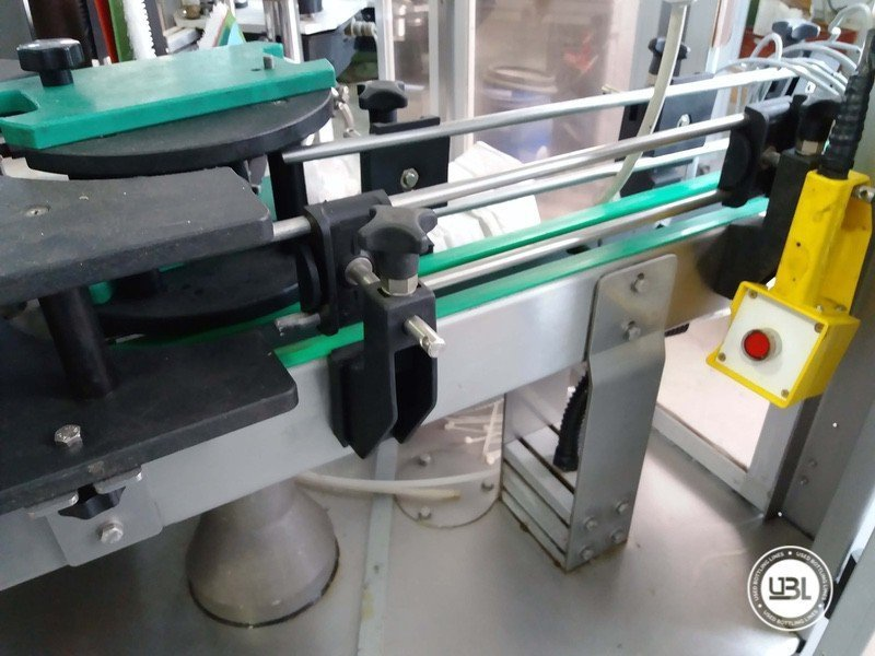Used Bottle Labeler OXE Quasar Adhesive 480 4000 bph - 8