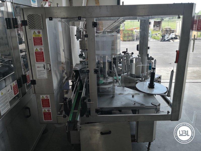 Used Bottle Labeler RCM 3T/2S/1cap 2500 bph year 2006 - 7