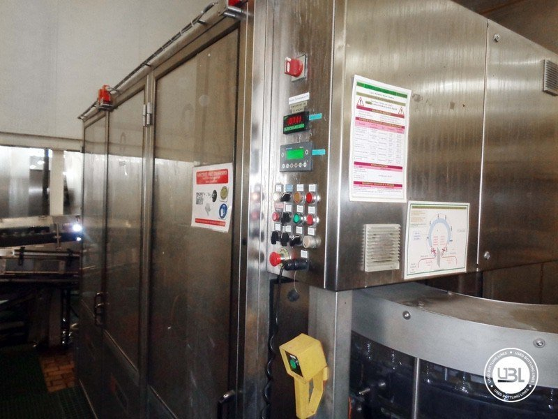 Used rinsing machine Perrier MFL 56 Serie 2873 - 1