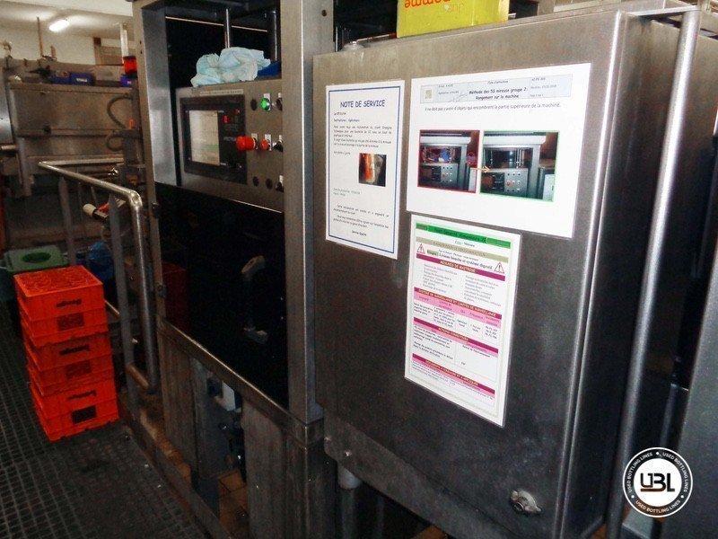 Used rinsing machine Perrier MFL 56 Serie 2873 - 3