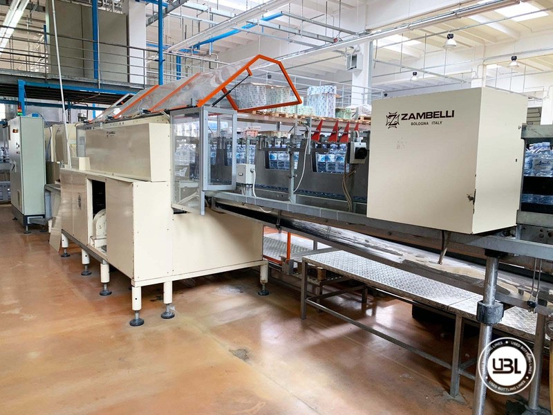Shrinkwrapper Zambelli LFT 50 18.000 bph year 2000