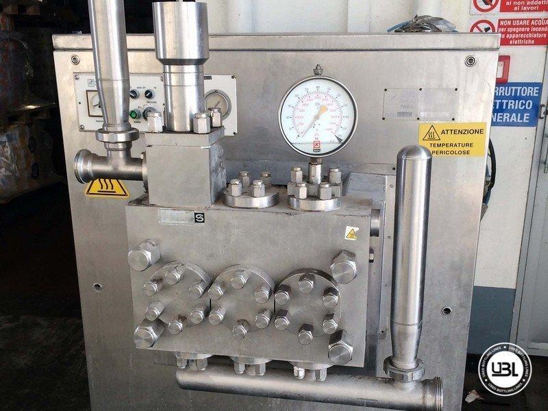Pasteurizador Soavi B. e Figli Spa CA/60R - 1