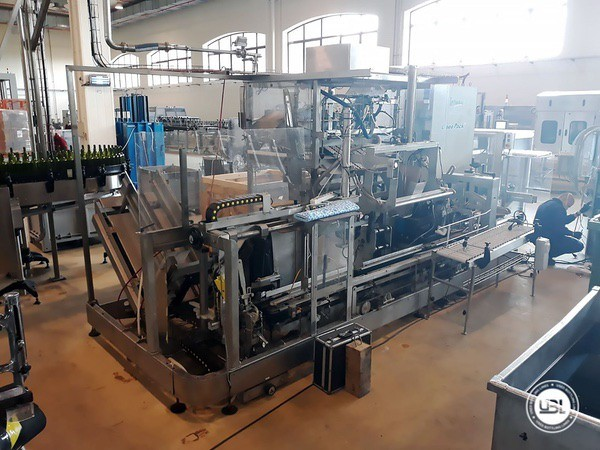 Used Filling Machine Technibag Linea Pack - 20