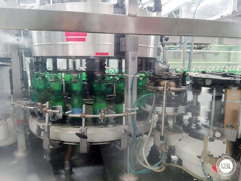 Used Isobaric Complete Glass Line for Sparkling Water, Water 20000 bph - 12