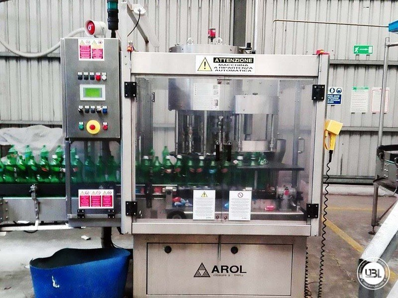 Used Isobaric Complete Glass Line for Sparkling Water, Water 20000 bph - 3