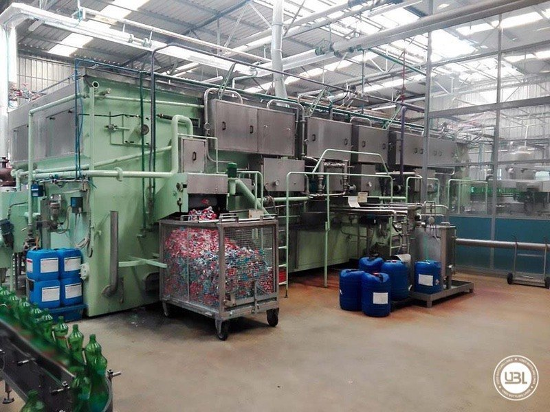 Used Isobaric Complete Glass Line for Sparkling Water, Water 20000 bph - 4