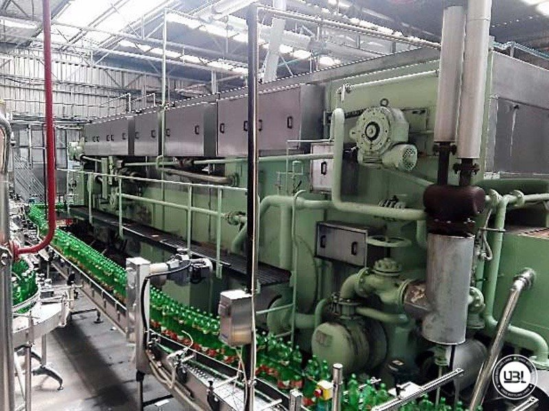 Used Isobaric Complete Glass Line for Sparkling Water, Water 20000 bph - 5