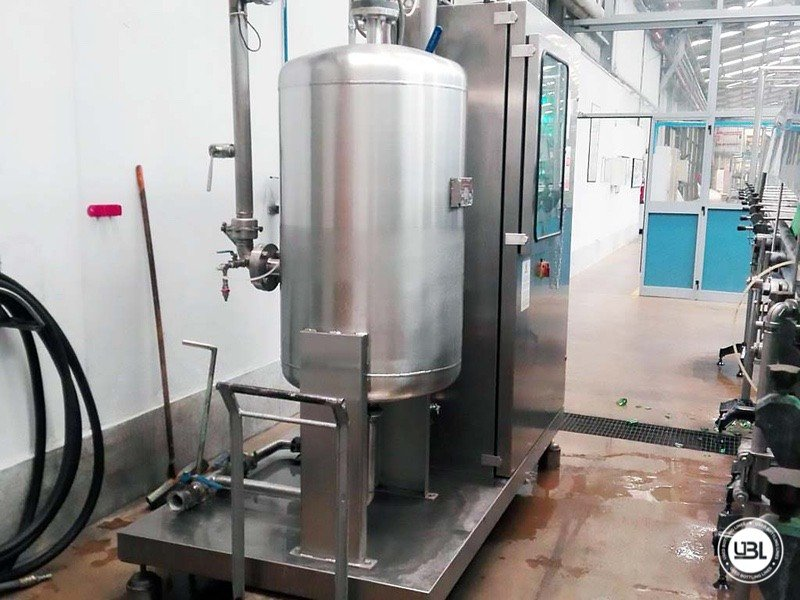 Used Isobaric Complete Glass Line for Sparkling Water, Water 20000 bph - 7