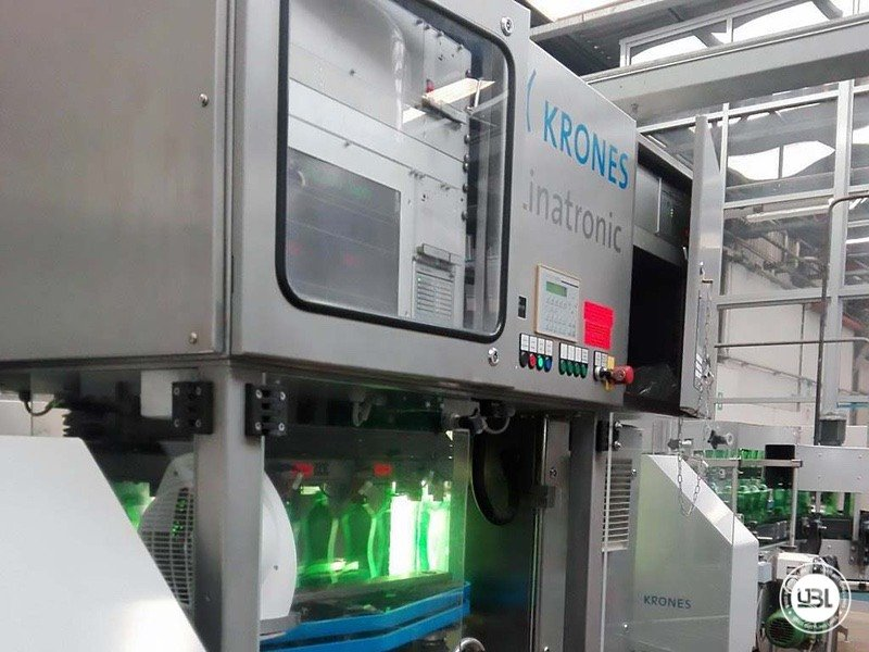 Used Isobaric Complete Glass Line for Sparkling Water, Water 20000 bph - 8