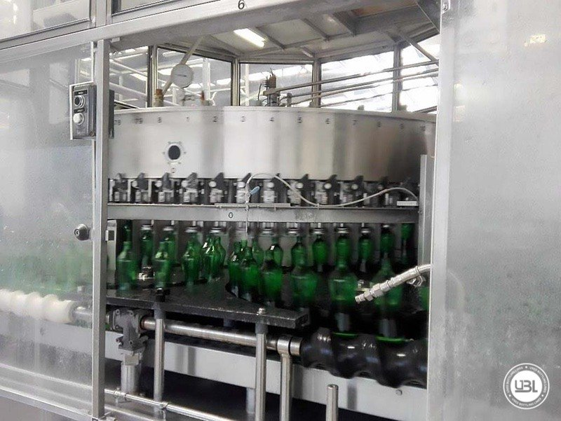 Used Isobaric Complete Glass Line for Sparkling Water, Water 20000 bph - 9