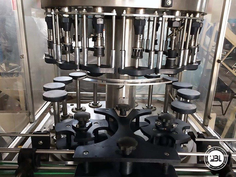 Used Complete Glass Line for Alcohol, Oil 2500 bph - 1