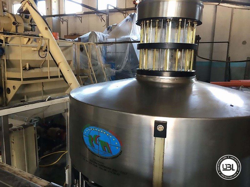 Used Complete Glass Line for Alcohol, Oil 2500 bph - 14