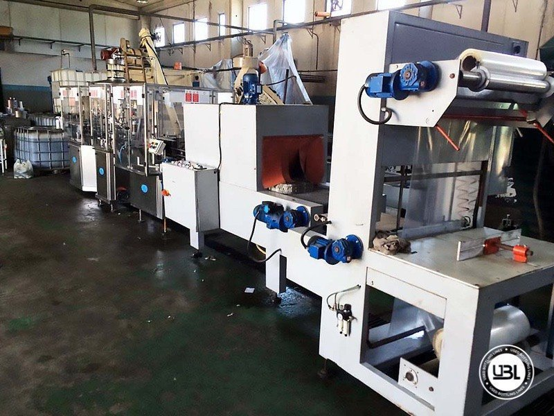 Used Complete Glass Line for Alcohol, Oil 2500 bph - 16