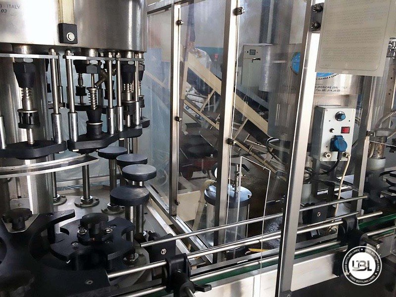 Used Complete Glass Line for Alcohol, Oil 2500 bph - 2