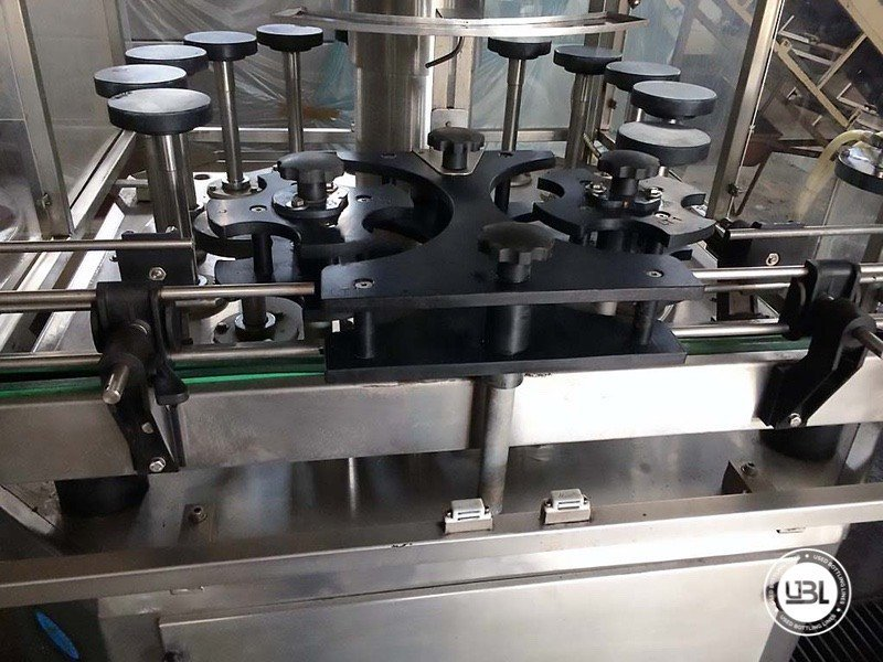 Used Complete Glass Line for Alcohol, Oil 2500 bph - 3