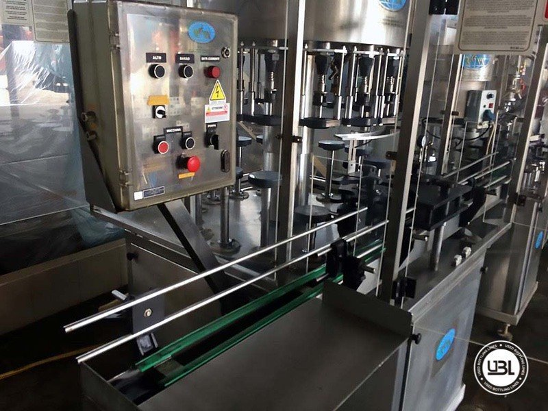 Used Complete Glass Line for Alcohol, Oil 2500 bph - 4
