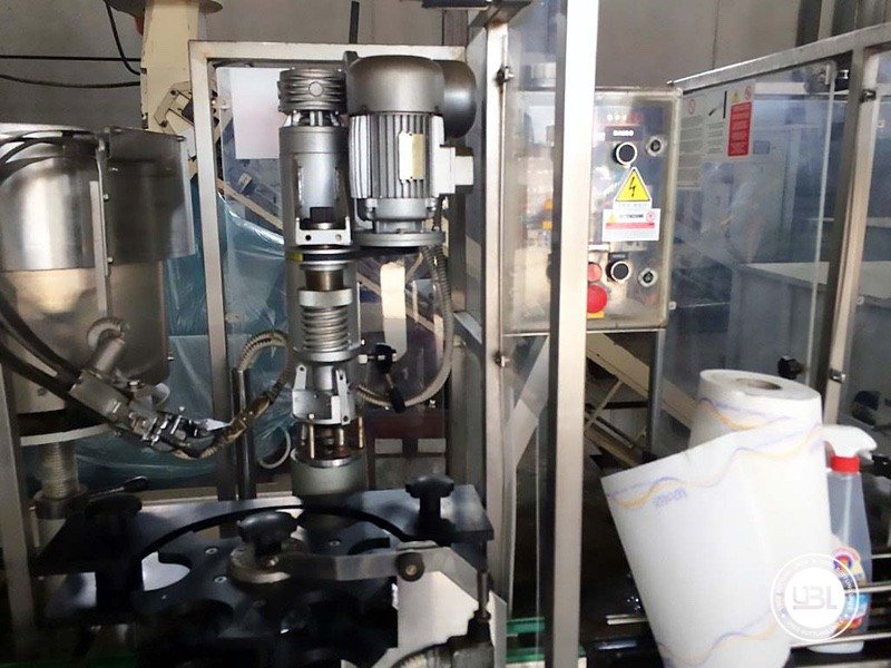 Used Complete Glass Line for Alcohol, Oil 2500 bph - 6