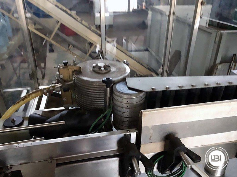 Used Complete Glass Line for Alcohol, Oil 2500 bph - 8