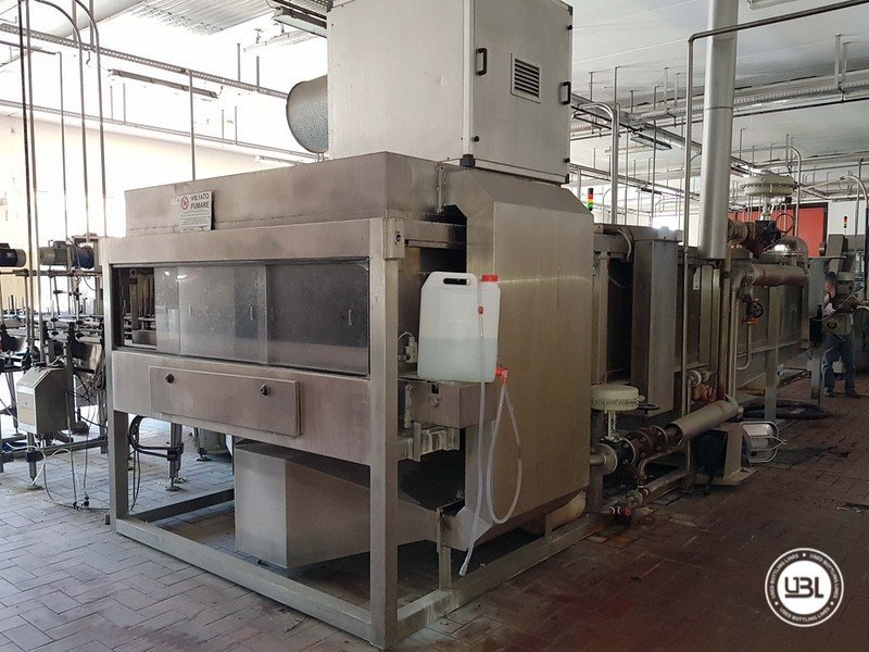Used Complete Glass Line for Sparkling Wine, Spumante, Still Wine 4000 bph - 1