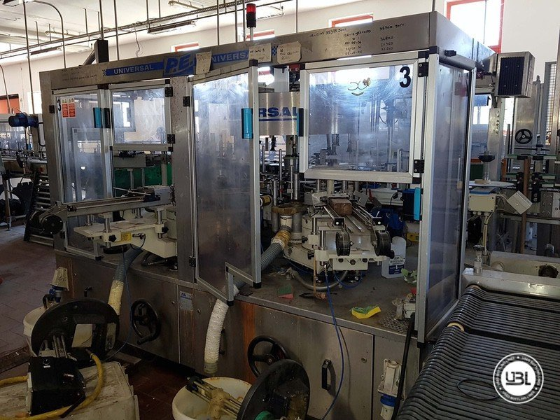 Used Complete Glass Line for Sparkling Wine, Spumante, Still Wine 4000 bph - 10