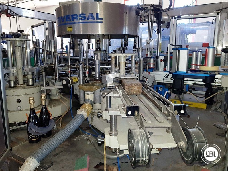 Used Complete Glass Line for Sparkling Wine, Spumante, Still Wine 4000 bph - 11