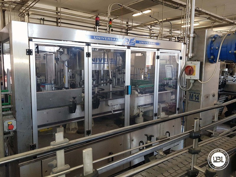 Used Complete Glass Line for Sparkling Wine, Spumante, Still Wine 4000 bph - 13