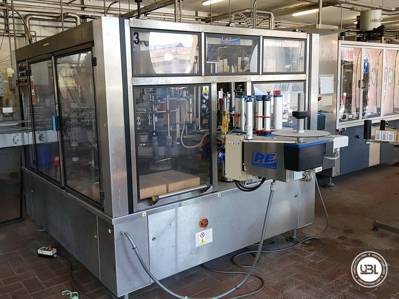 Used Complete Glass Line for Sparkling Wine, Spumante, Still Wine 4000 bph - 14