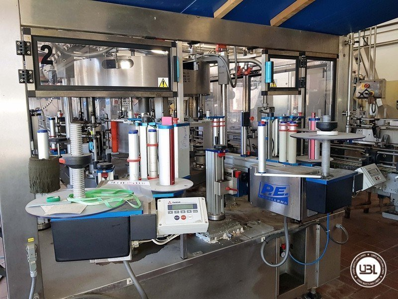 Used Complete Glass Line for Sparkling Wine, Spumante, Still Wine 4000 bph - 15