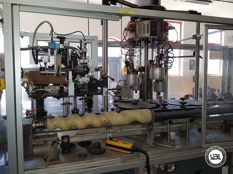 Used Complete Glass Line for Sparkling Wine, Spumante, Still Wine 4000 bph - 16