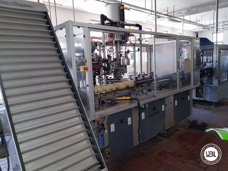 Used Complete Glass Line for Sparkling Wine, Spumante, Still Wine 4000 bph - 17