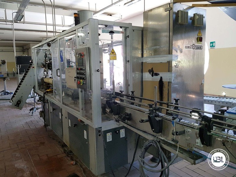 Used Complete Glass Line for Sparkling Wine, Spumante, Still Wine 4000 bph - 18
