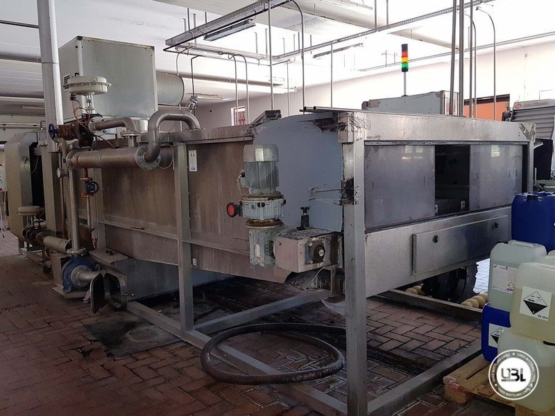 Used Complete Glass Line for Sparkling Wine, Spumante, Still Wine 4000 bph - 2