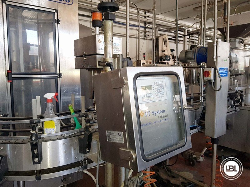 Used Complete Glass Line for Sparkling Wine, Spumante, Still Wine 4000 bph - 24