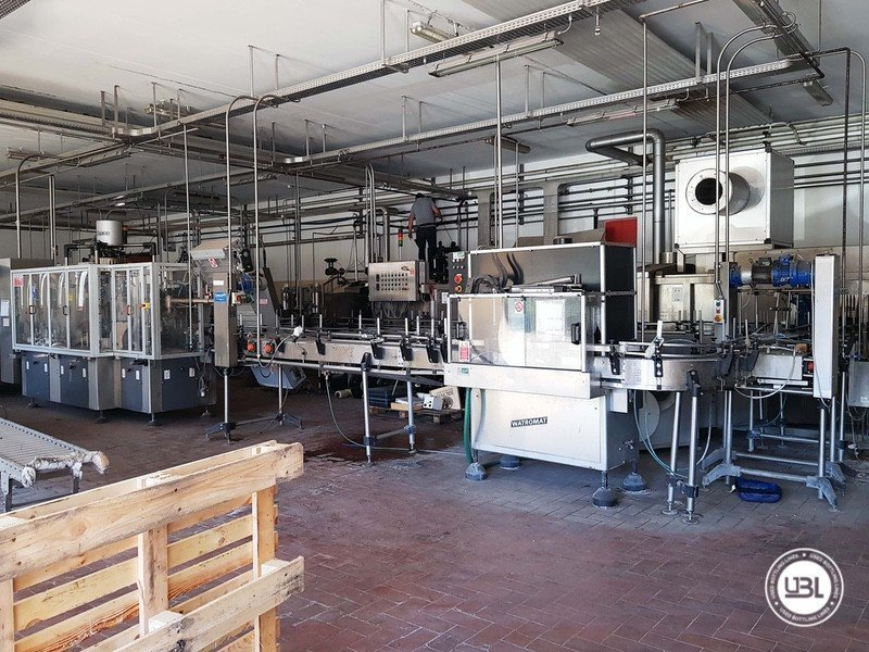 Used Complete Glass Line for Sparkling Wine, Spumante, Still Wine 4000 bph - 26