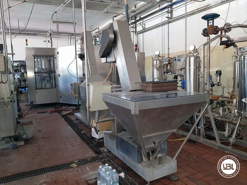 Used Complete Glass Line for Sparkling Wine, Spumante, Still Wine 4000 bph - 5