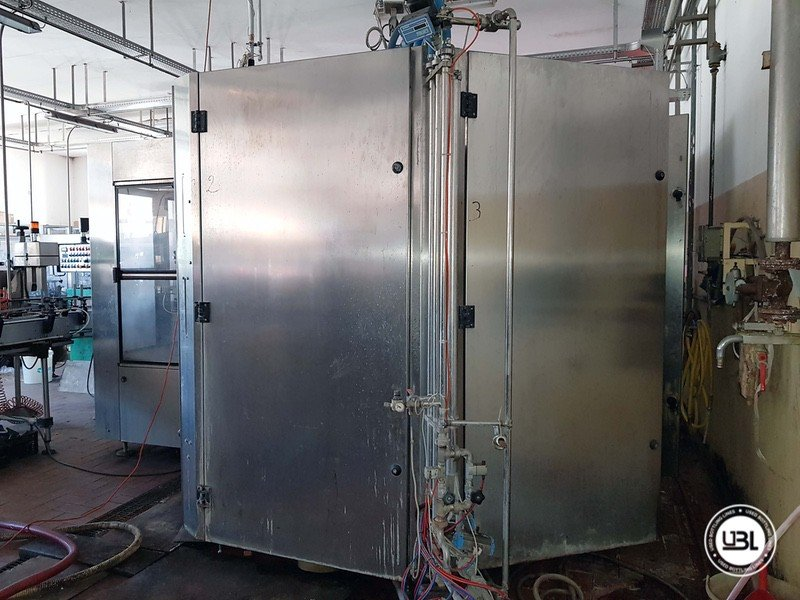 Used Complete Glass Line for Sparkling Wine, Spumante, Still Wine 4000 bph - 6