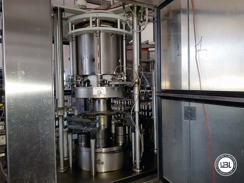 Used Complete Glass Line for Sparkling Wine, Spumante, Still Wine 4000 bph - 7