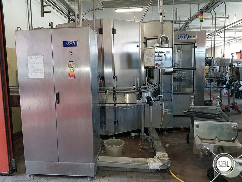 Used Complete Glass Line for Sparkling Wine, Spumante, Still Wine 4000 bph - 9