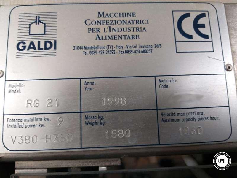 Used Filling Machine Galdi RG21 1200 bph - 1