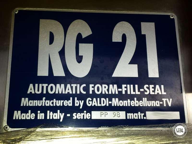 Used Filling Machine Galdi RG21 1200 bph - 2