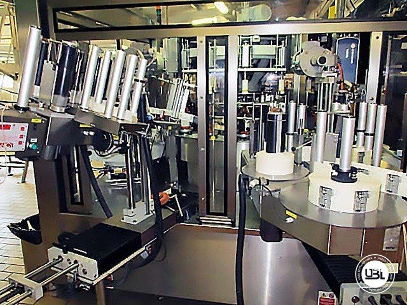 Used Bottle Labeler Sacmi Opera 7000 bph year 2004 - 2