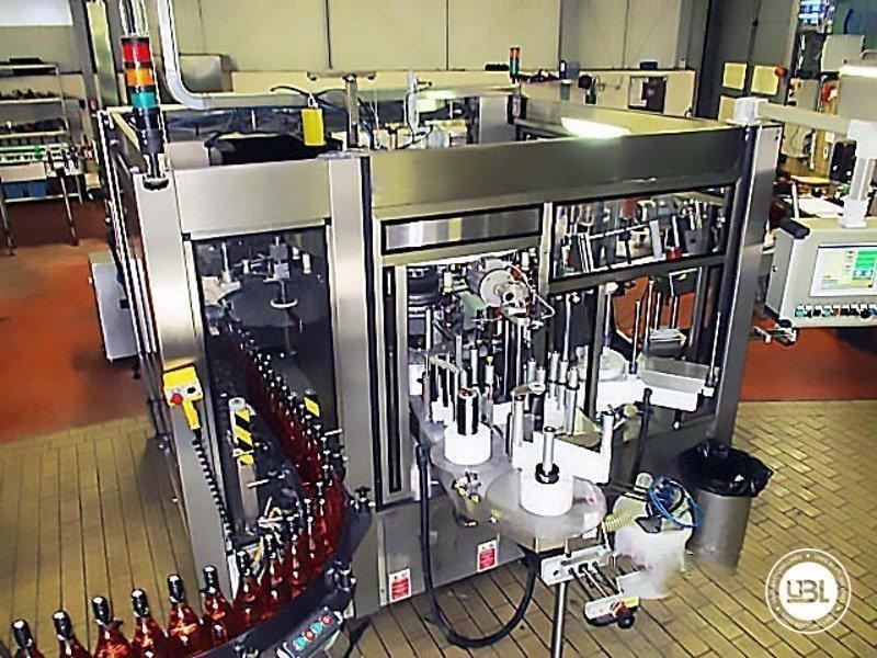 Used Bottle Labeler Sacmi Opera 7000 bph year 2004 - 3