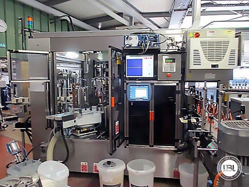 Used Bottle Labeler Sacmi Opera 7000 bph year 2004 - 5