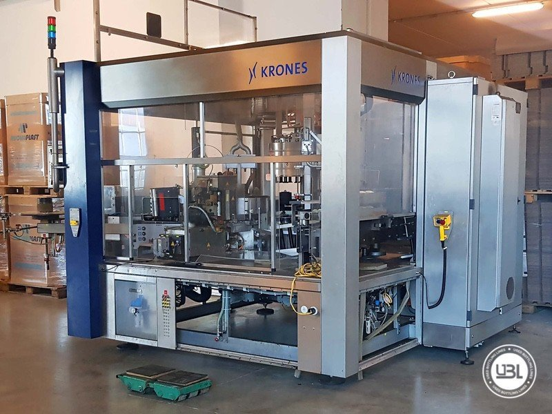 Used Labeler Krones Contiroll 720-18 30000 Bph - 1